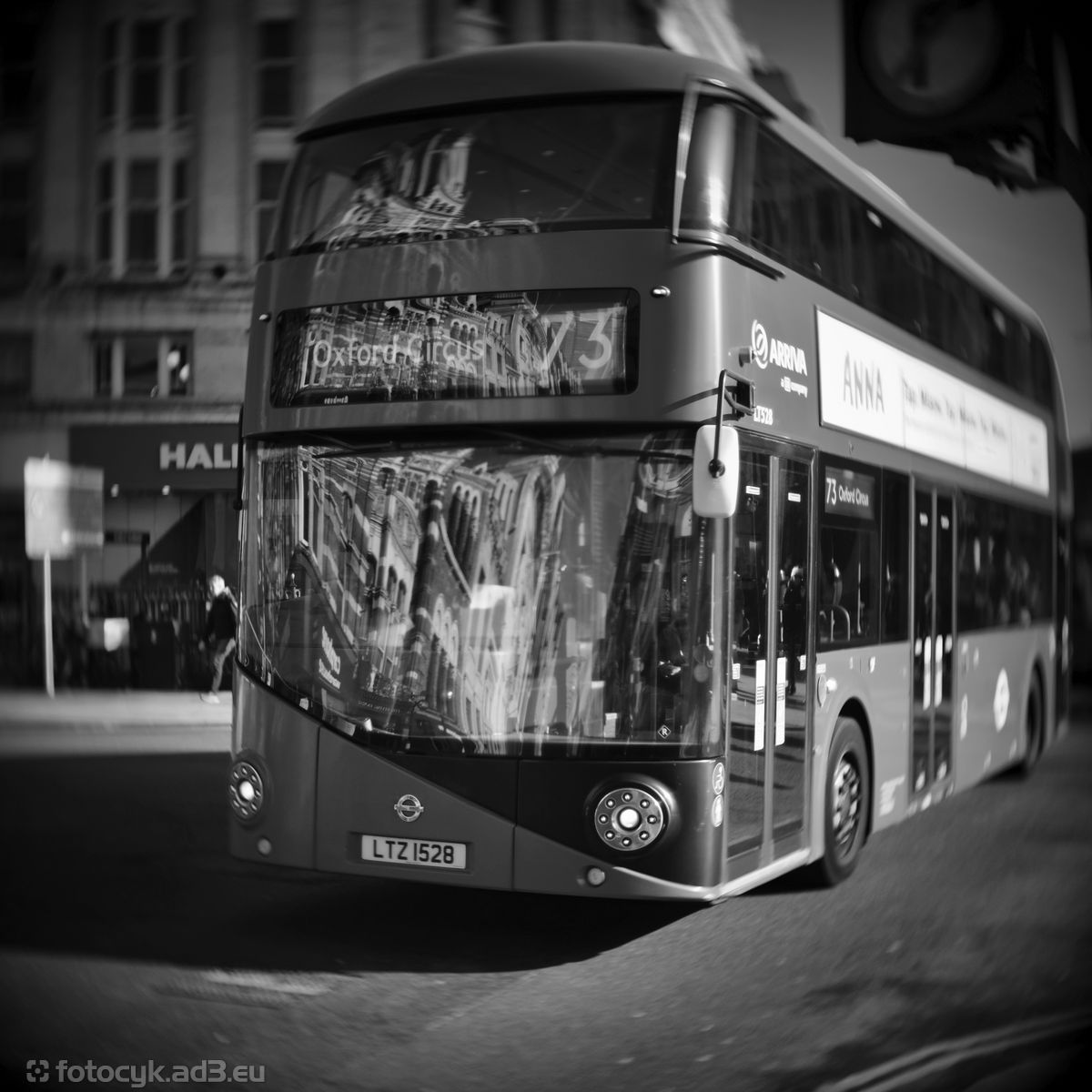 Autobus do Oxford Circus