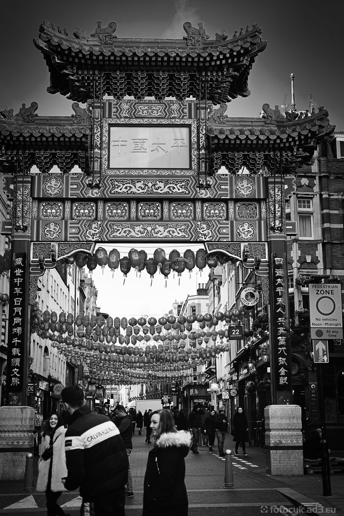 Wejście do China Town